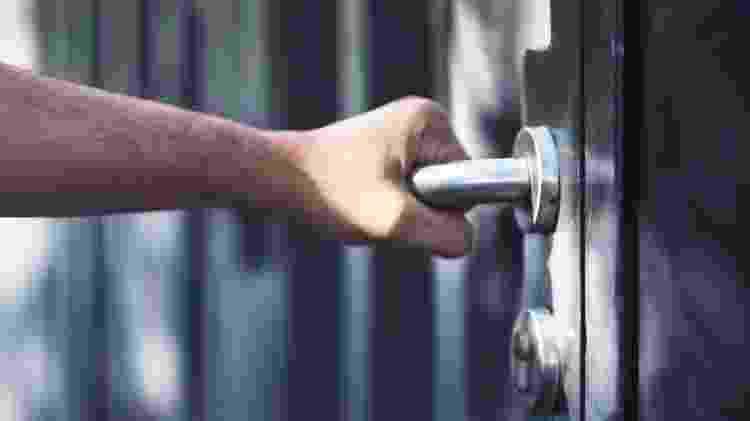 fechadura de aço - iStock - iStock