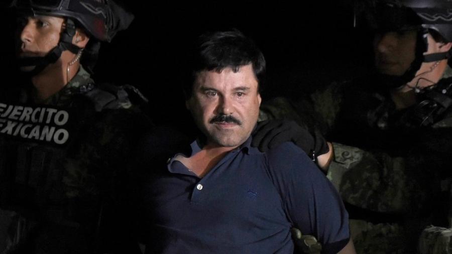 """Joaquín """"El Chapo"""" Guzmán está sendo julgado nos Estados Unidos - AFP"""