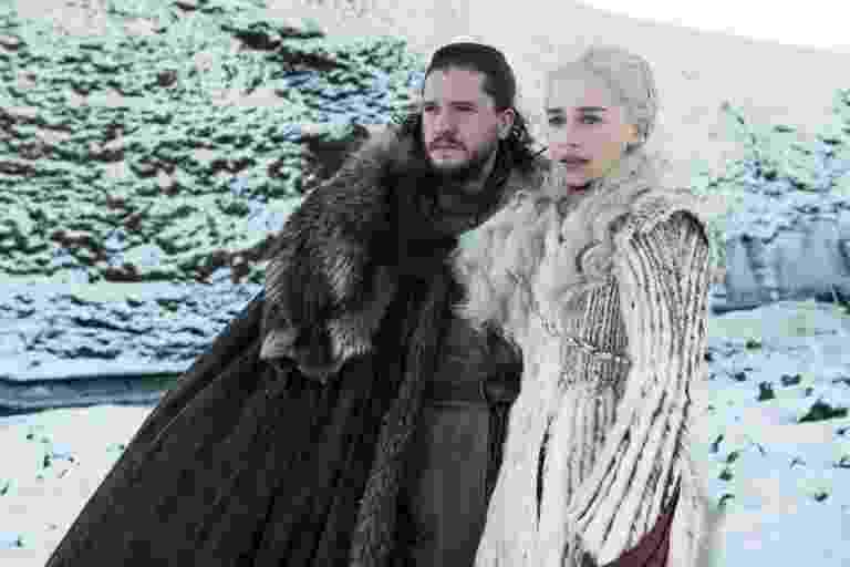 Game of Thrones - Jon Snow and Daenerys - Divulgação