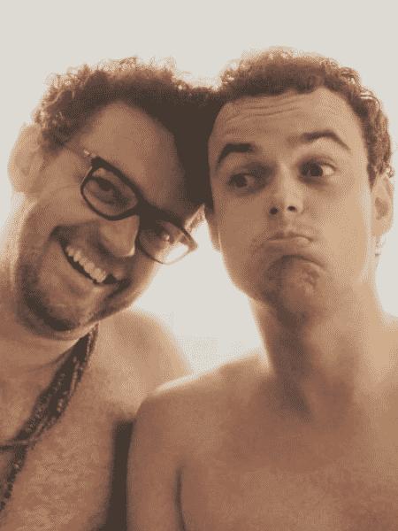 Fernando Rocha com o filho, Pedro - Reprodução/Instagram