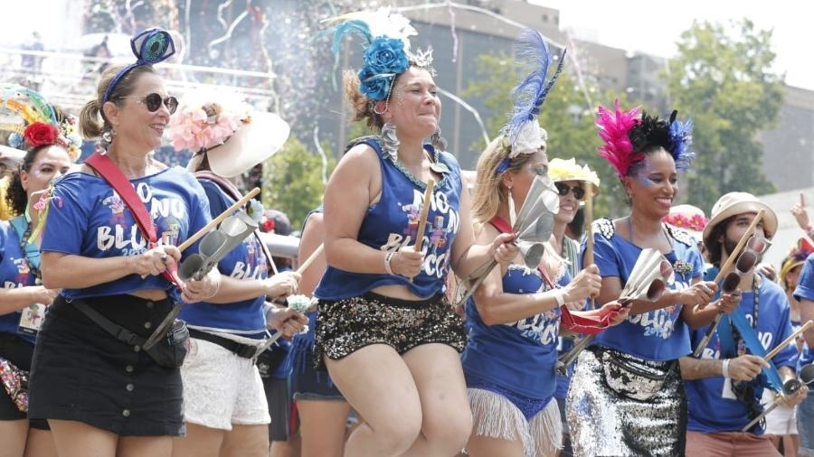 Monobloco encerra o Carnaval 2020 no Rio de Janeiro - Marcelo de Jesus/UOL