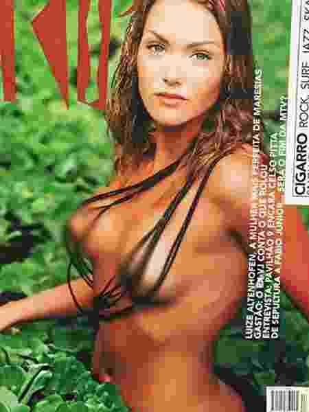 """Luize Altenhofen em capa da revista """"Trip"""" - Reprodução/Instagram"""