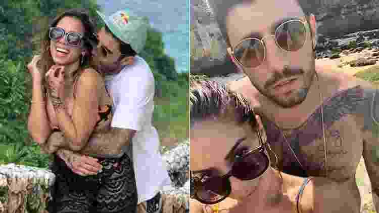 Anitta compartilhou fotos ao lado de Pedro Scooby - Reprodução/Instagram