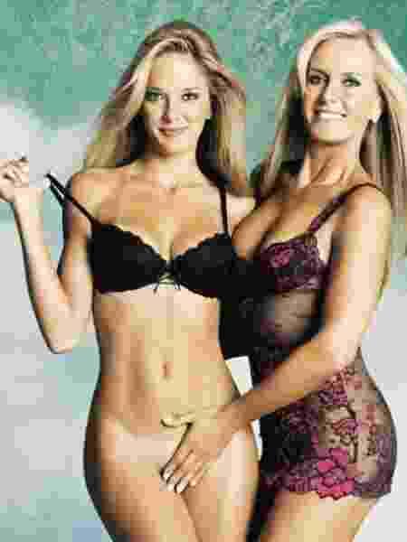 Helô Pinheiro posou pela segunda vez para a Playboy em ensaio com a filha Ticiane Pinheiro - Divulgação/Playboy - Divulgação/Playboy