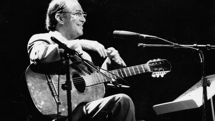 Cantor João Gilberto  - Juvenal Pereira/Folhapress