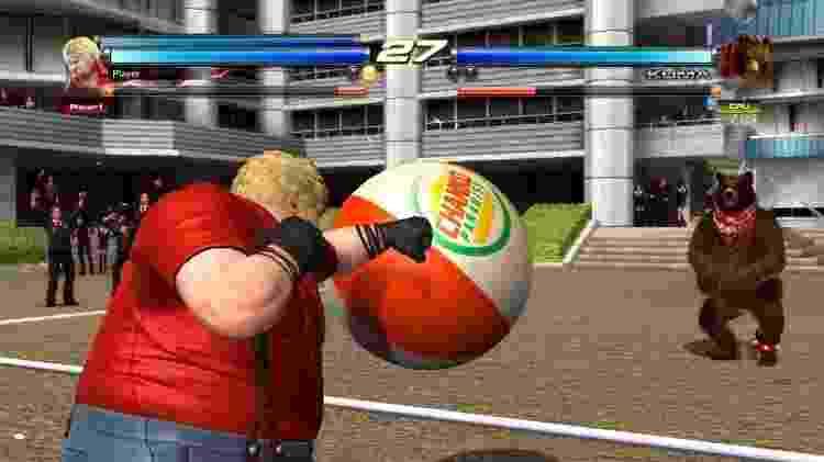 Tekken Ball - Reprodução - Reprodução