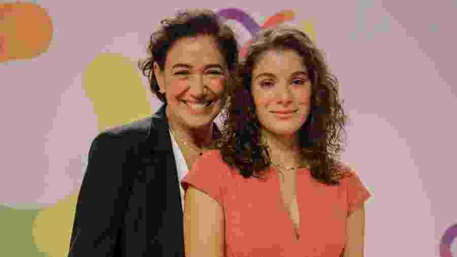 Lilia Cabral e Giulia - Victor Pollak/Globo e Paulo Belote/Globo