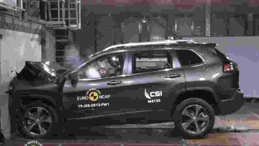 Teste Euro NCAP Jeep Cherokee - Divulgação
