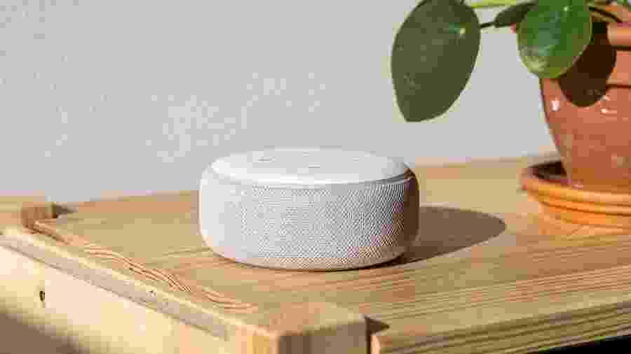 Echo Dot, a caixa de som com inteligência artificial da Amazon - Getty Images
