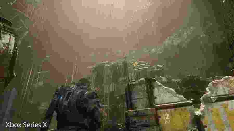 Gears 5 terá versão otimizada para o Xbox Series X - Reprodução