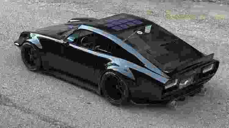 Lithium Puma elétrico preto traseira - Divulgação - Divulgação