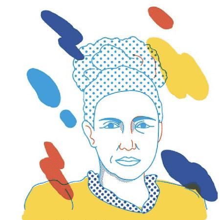 Maria Firmina dos Reis - Clara Iwanow - Júlia Vieira/Reprodução. - Clara Iwanow - Júlia Vieira/Reprodução.