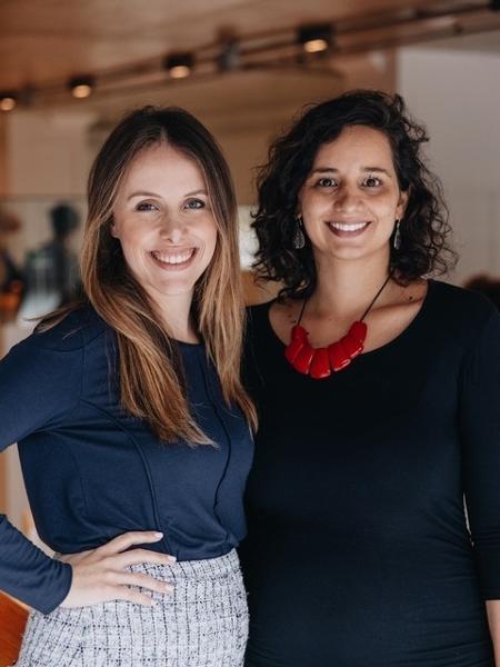 Flavia Deustch e Paula Crespi criaram a plataforma Theia para mulheres encontrarem profissionais que as auxiliem na gestação - Divulgação