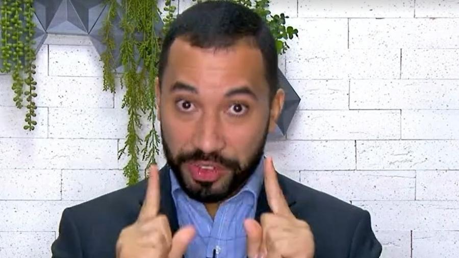 """Gil do Vigor criticou """"descaso"""" do governo com a ciência - Reprodução/TV Globo"""
