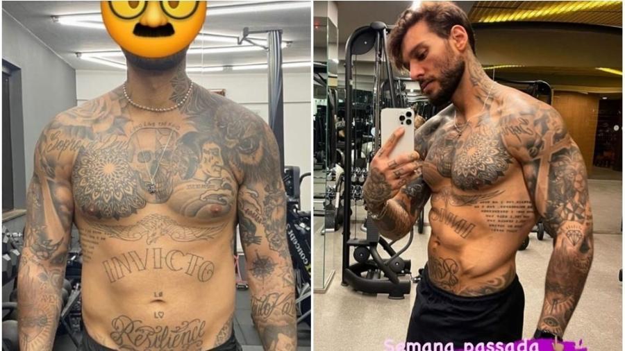 Lucas Lucco mostra barriga tanquinho em foto sem camisa - Reprodução/Instagram