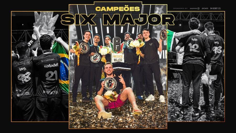 Team oNe Rainbow Six - Divulgação/Team oNe