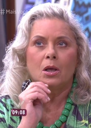 Vera Fischer bate-papo com Ana Maria Braga e relembra momentos importantes da carreira na TV - Reprodução/TV Globo