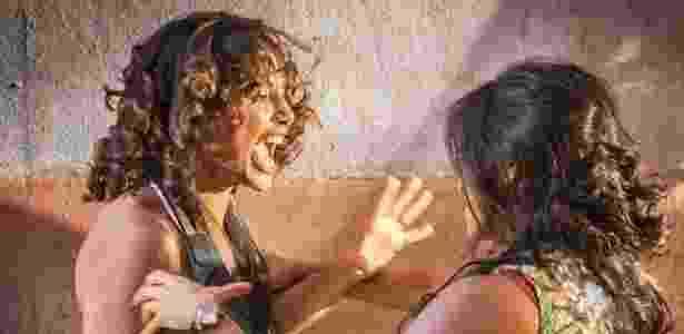 """Em """"Velho Chico"""", Tereza e Luzia finalmente se reencontram e saem no tapa - Reprodução/Gshow"""