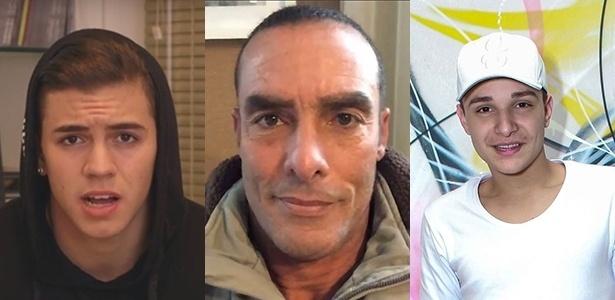 Biel, Paulo Zulu e MC Gui tiveram de pedir desculpas ao público recentemente - Montagem UOL
