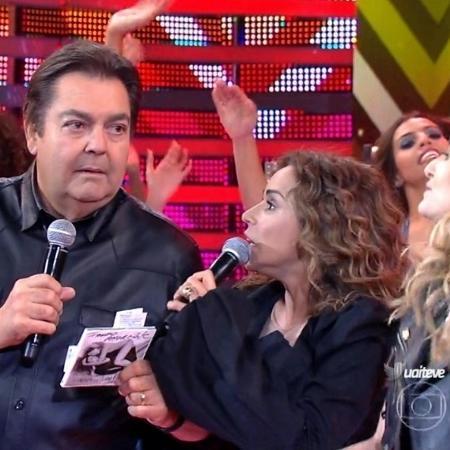 """Daniela Mercury engrossa tom político e sugere """"faxina"""" - Reprodução/TV Globo"""