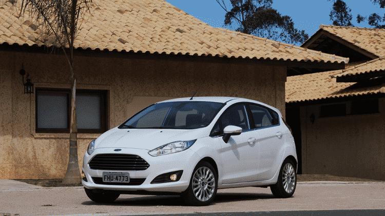 Ford Fiesta Titanium 1.6 Powershift - Murilo Góes/UOL - Murilo Góes/UOL
