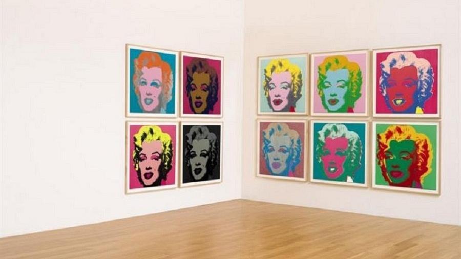 Retratos de Marilyn Monroe em obra de Andy Warhol (1928-1987) - Efe/Sotheby´s
