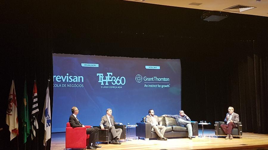 O debate dos canais esportivos na Conafut - Divulgação