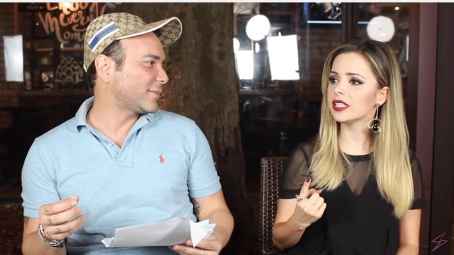 Sandy lembra primeiro beijo em conversa com Matheus Mazzafera - Reprodução/Youtube