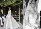 Vestido de noiva da top Miranda Kerr foi inspirado no de Grace Kelly - Reprodução/Instagram