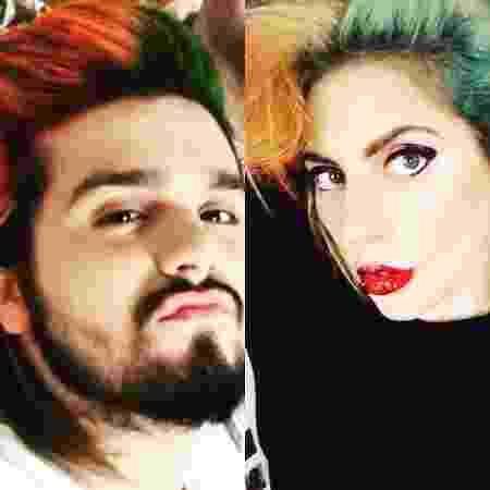 Luan Santana e Lady Gaga: mesmo cabeleireiro? - Reprodução/Instagram/luansantana