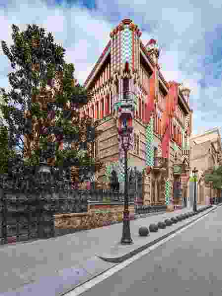 A Casa Vicens, em Barcelona, foi a primeira projetada por Gaudí - Divulgação