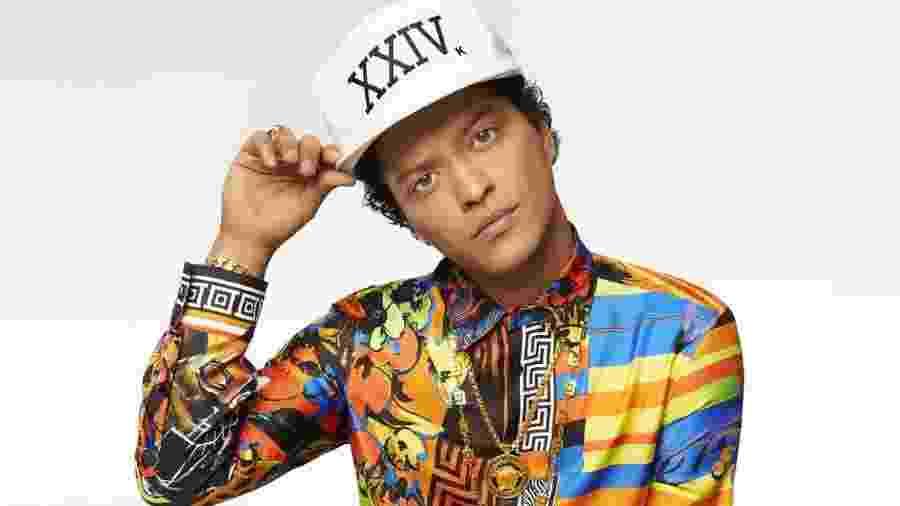 O cantor Bruno Mars - Divulgação