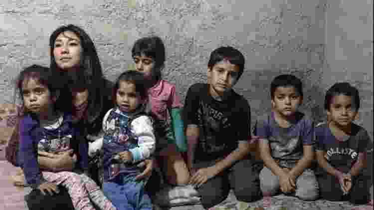 Daniele Suzuki e crianças refugiadas - @danisuzuki - @danisuzuki