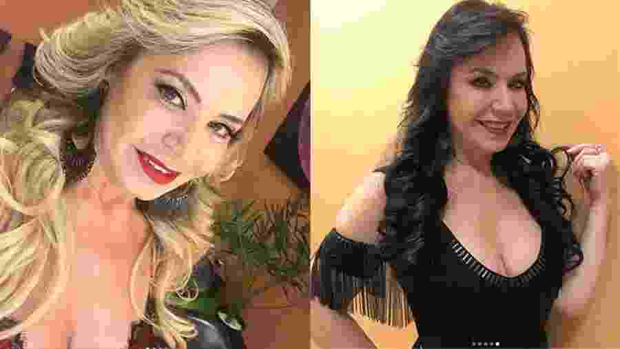 Antes e depois: Flor usou durante 30 anos o cabelo loiro e mudou radicalmente o visual - Reprodução/Instagram