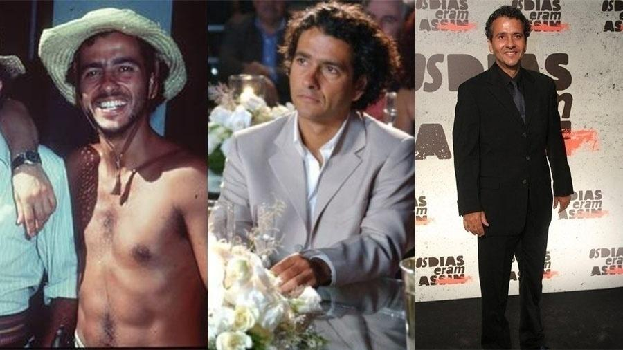 """Marcos Palmeira, aos 27 anos, fez sucesso em """"Pantanal"""" (1990). Em """"Celebridade"""", aos 40, já era um galã global. Hoje, aos 54 anos, continua fazendo sucesso na TV"""