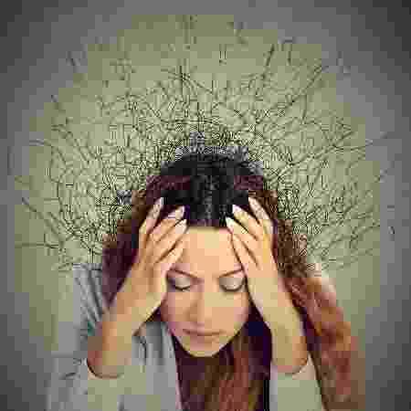 A ansiedade na meia-idade foi associada a um risco maior de demência em um intervalo de pelo menos 10 anos - iStock