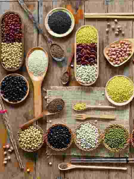 Feijão, grão-de-bico lentilha e outras leguminosas são alimentos ricos em ferro  - iStock