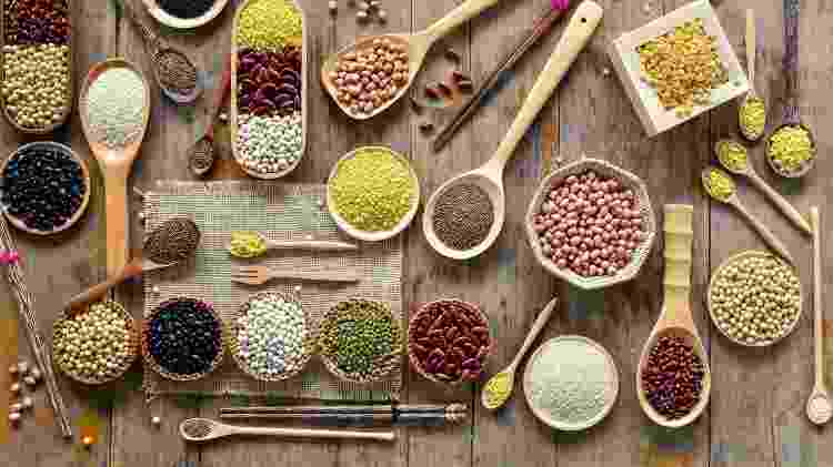 Feijão, grão-de-bico e lentilha e outras leguminosas são alimentos ricos em ferro  - iStock - iStock
