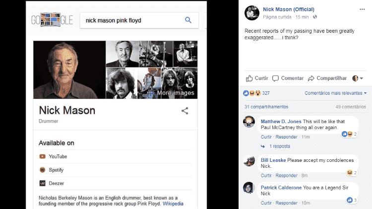 Nick Mason 2 - Reprodução - Reprodução