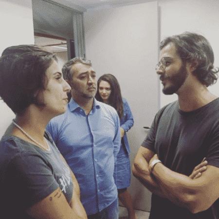 Túlio Gadêlha visita Lula - Reprodução/Instagram