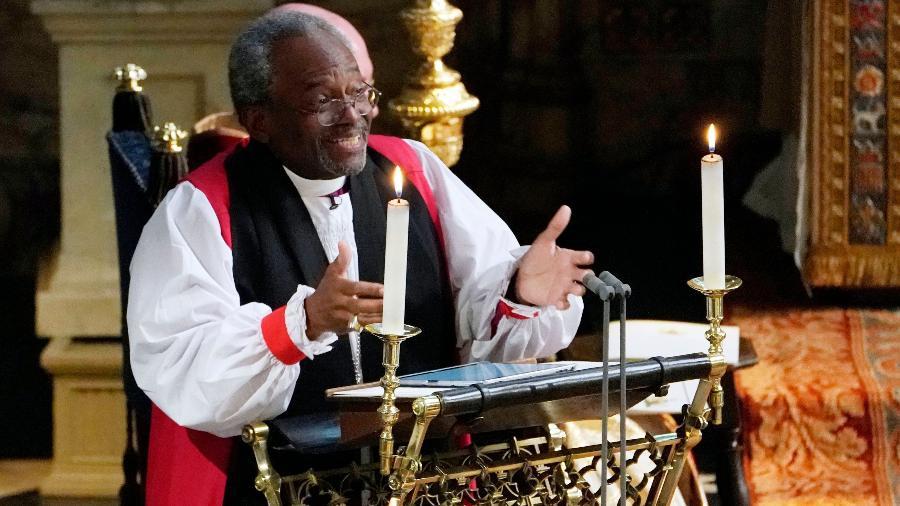 O bispo Michael Bruce Curry - Owen Humphreys/AFP