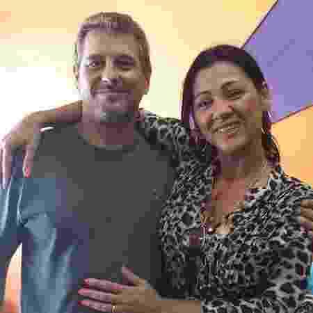 Mariluce e o marido, Cláudio - Arquivo pessoal - Arquivo pessoal
