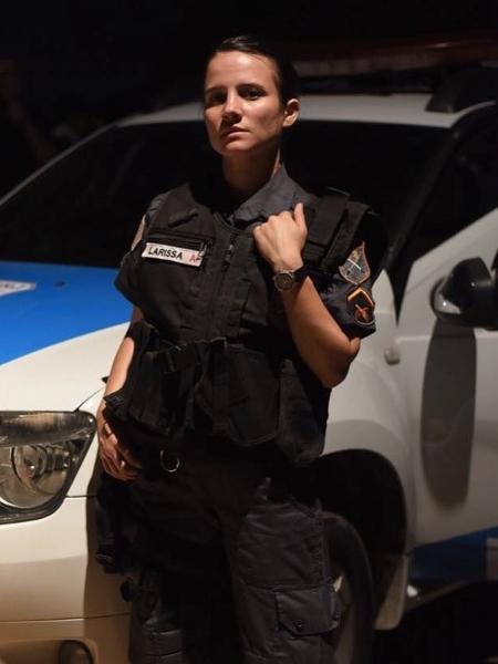 """Bianca Comparato é a policial militar Larissa no filme """"Intervenção"""" - Reprodução/Instagram"""