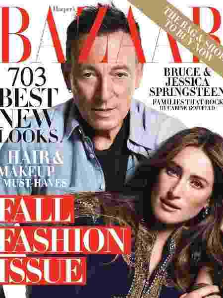 Bruce Springsteen - Reprodução/Harper's Bazaar - Reprodução/Harper's Bazaar