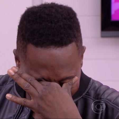 """Mumuzinho se emociona no """"Mais Você"""" - Reprodução/Globo"""