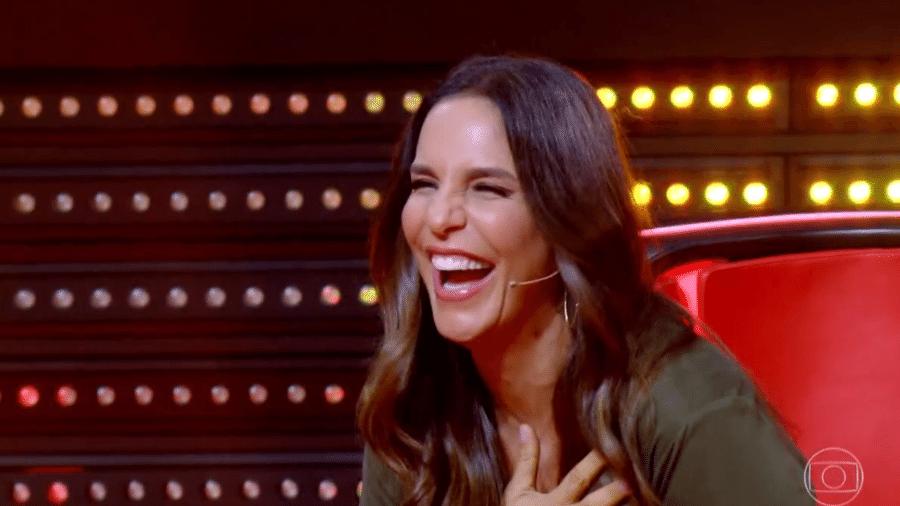 Ivete Sangalo no The Voice Brasil - Reprodução