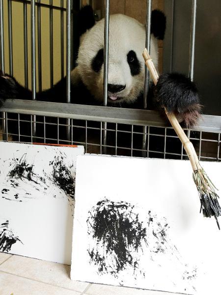 Panda no zoológico de Viena - Heinz-Peter/Reuters