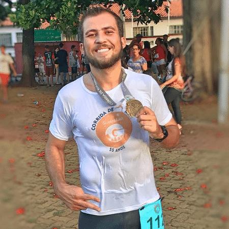 Diego medalha - Arquivo pessoal - Arquivo pessoal