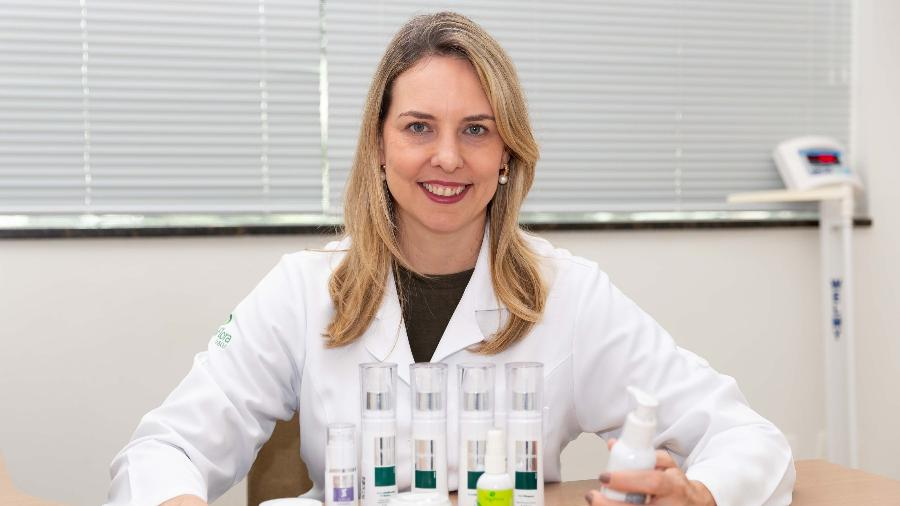 Claudia Torquato, 44 anos, assumiu a área financeira e de estratégia da Oligoflora após diagnóstico de câncer do marido - Léo Barrilari/Divulgação