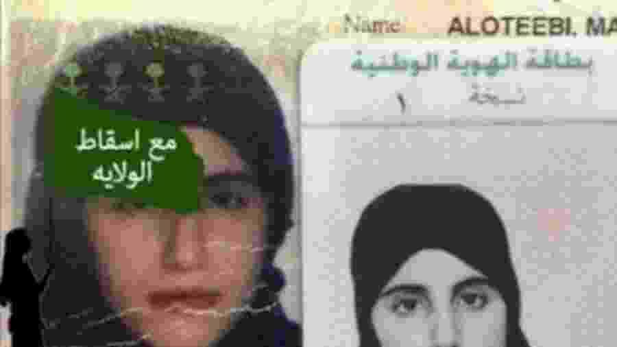 Mariam al-Otaibi foi detida por 100 dias depois que fugiu da casa do pai - Reprodução